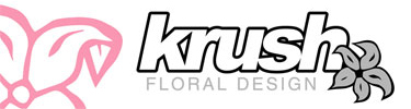Krush Floral Design Logo